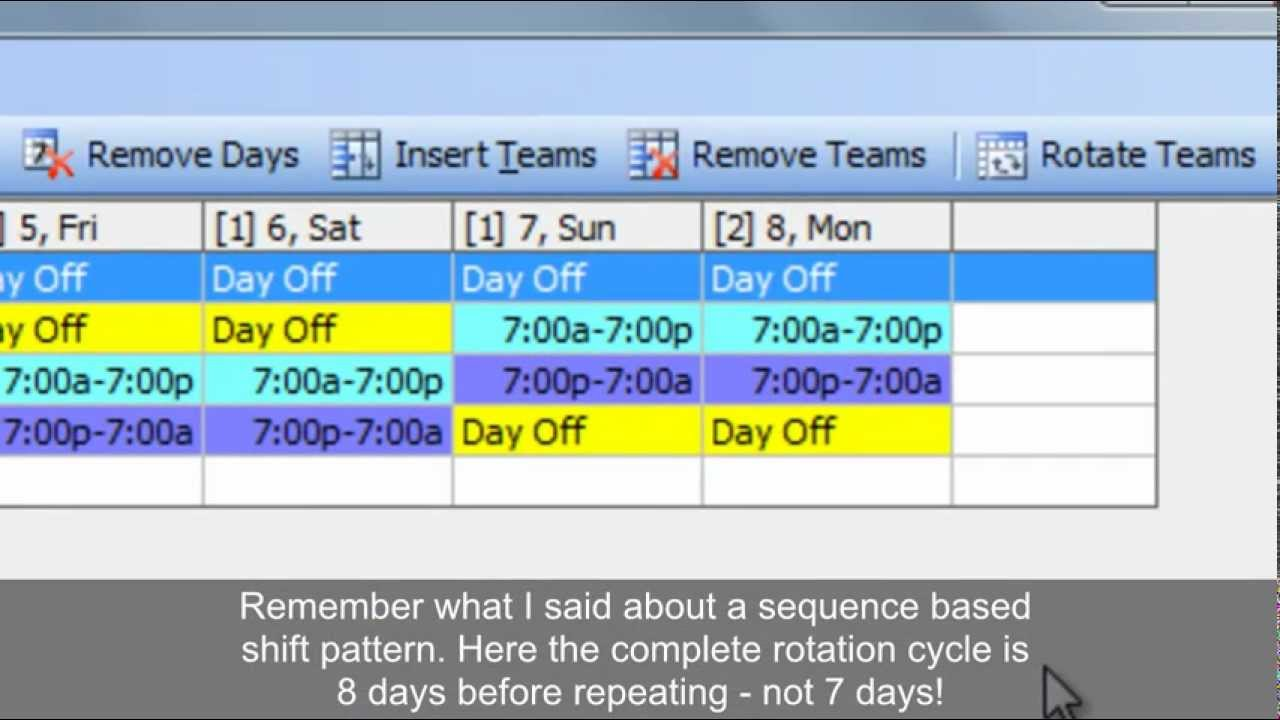 12 Hour Shift Schedule Template – 7+ Free Word, Excel, PDF Format