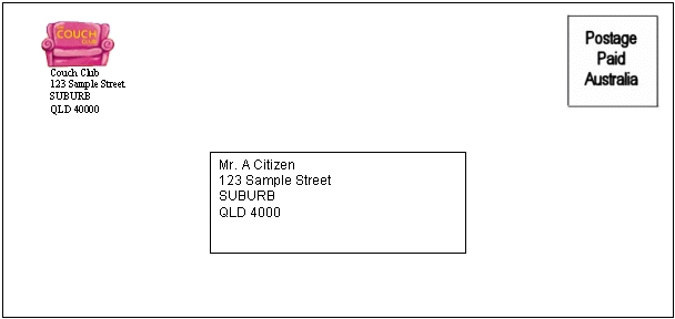 Sample Small Envelope Template. Envelope Template For Ms Word 40