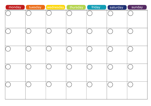 OfficeHelp Template (00028) Calendar Plan Year Planner Template