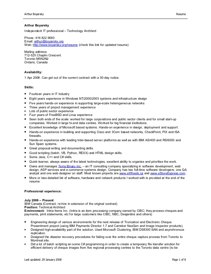 Professional accountant cv format