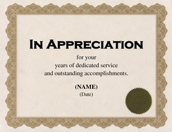 Awards Certificates | Free Templates Clip Art & Wording | Geographics
