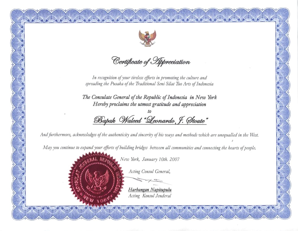 Certificate Of Appreciation Examples How To Make A Funeral Program