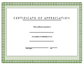Gold Seal Certificate Appreciation Ribbon | Anderson's