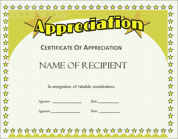 printable certificates of appreciation | VBS | Pinterest