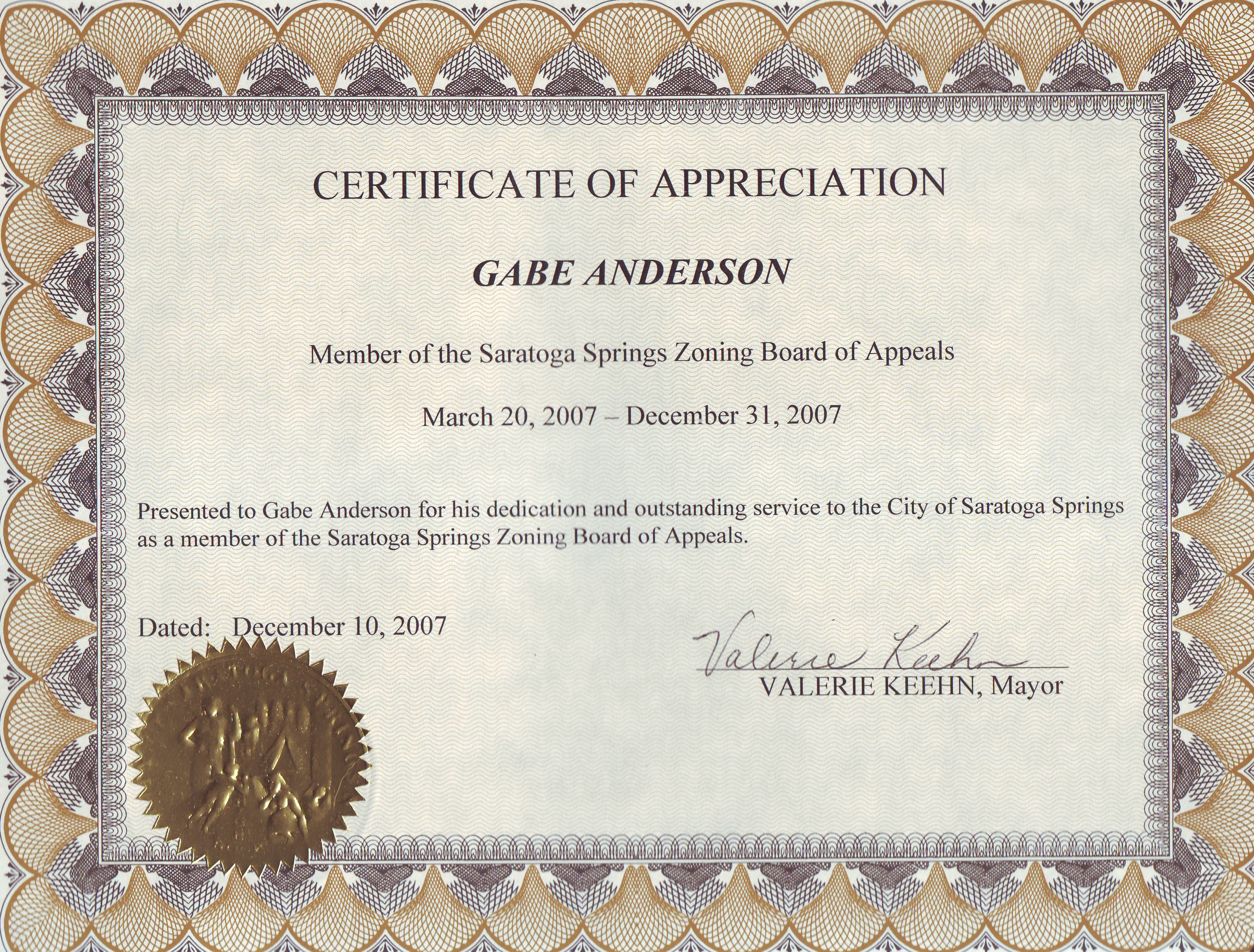 certificate of appreciation template word doc planner
