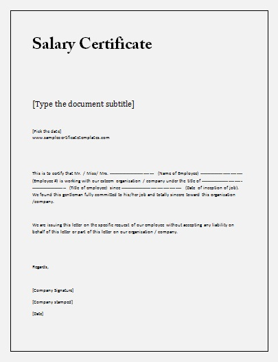 Marvelous Certificate Of Employment Sample With Income. Thank You For Visiting  YADCLUB. Nowadays Were Excited To Declare That We Have Discovered An  Incredibly ... Idea Pay Certificate Sample
