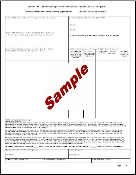 5 Certificate of Origin Templates Excel PDF Formats