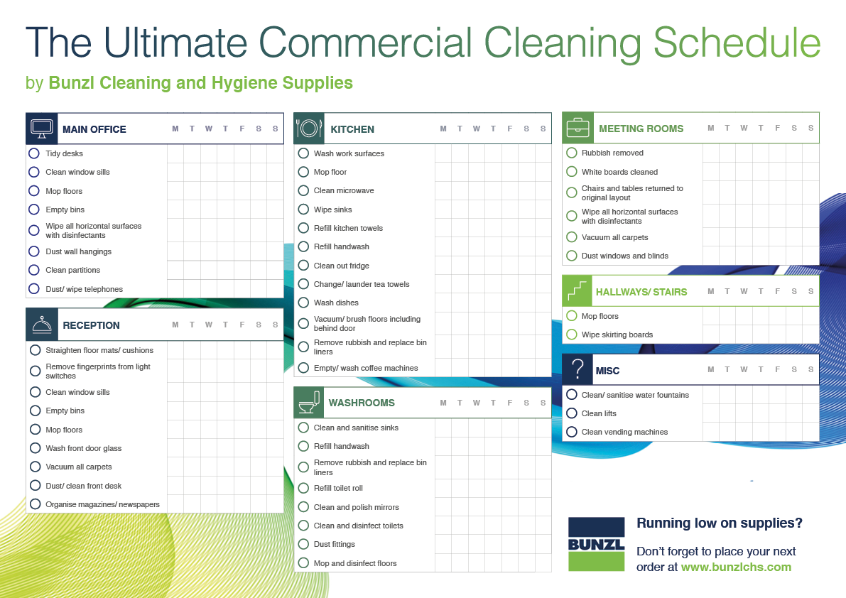 The Green Cleaning Company: Office cleaning checklists