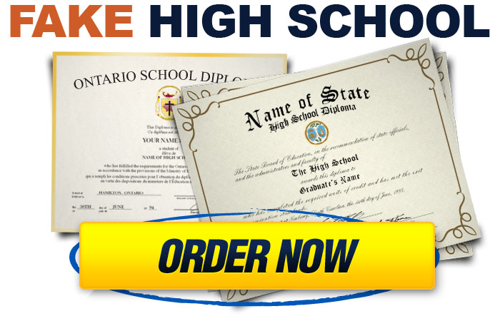Buy A Fake High School Diploma & Transcripts Online!