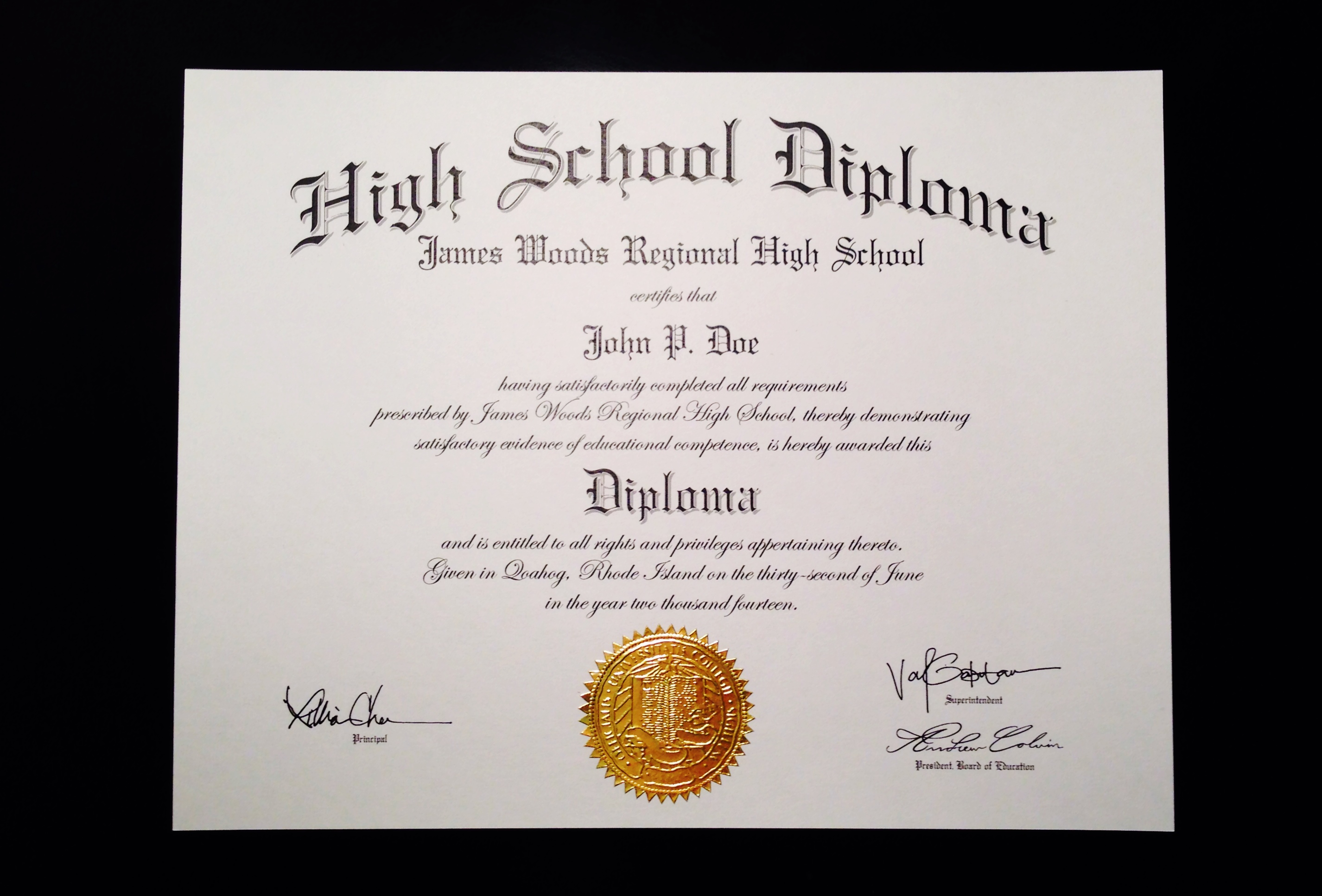 create high school diploma  u2013 planner template free