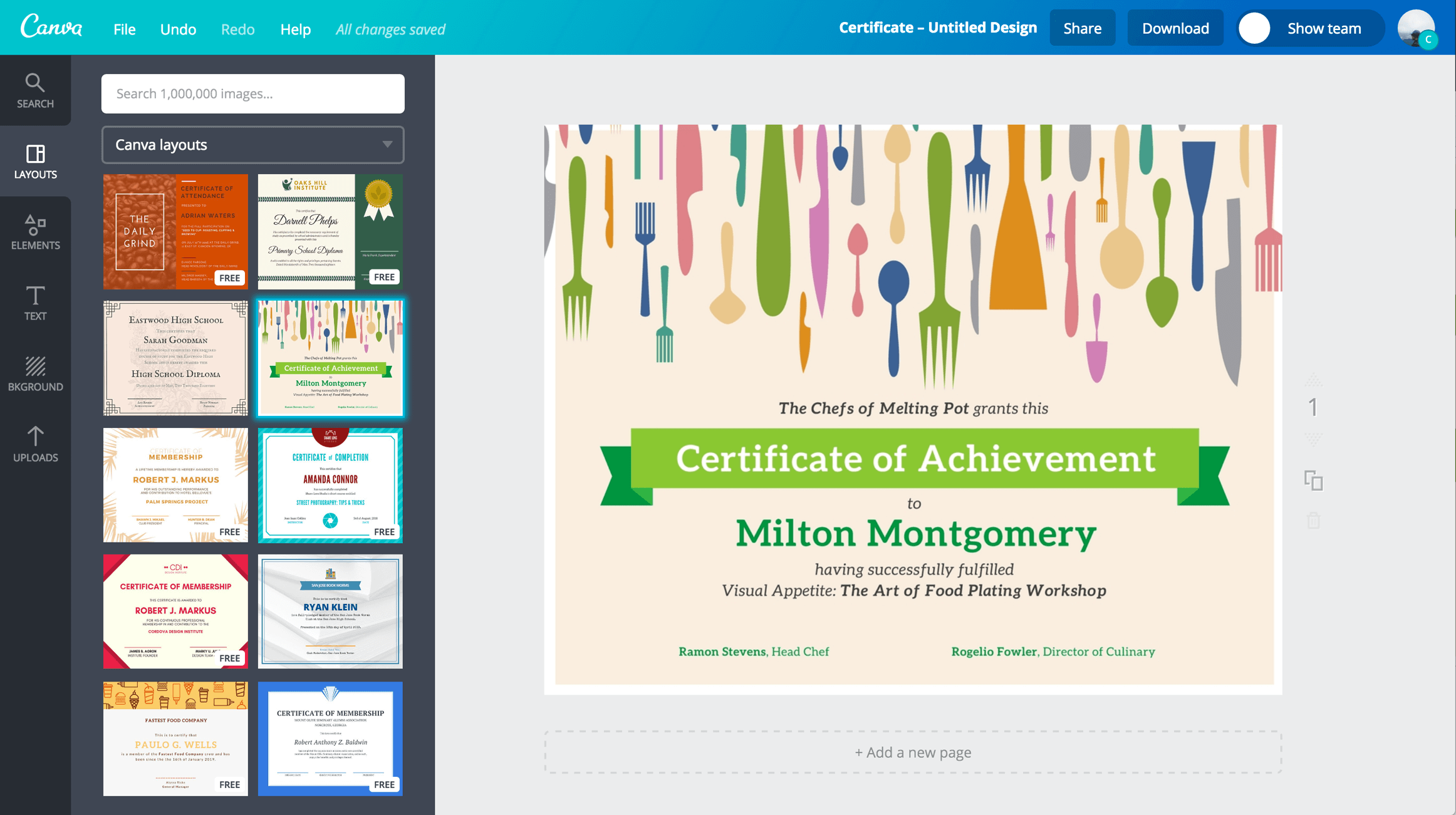 Create Certificates of Achievement in bulk using Excel UpSkill Blog