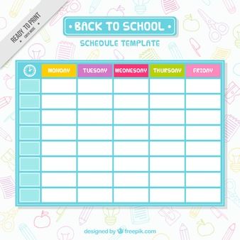 Schedule vectors photos and psd files free download pronofoot35fo Gallery