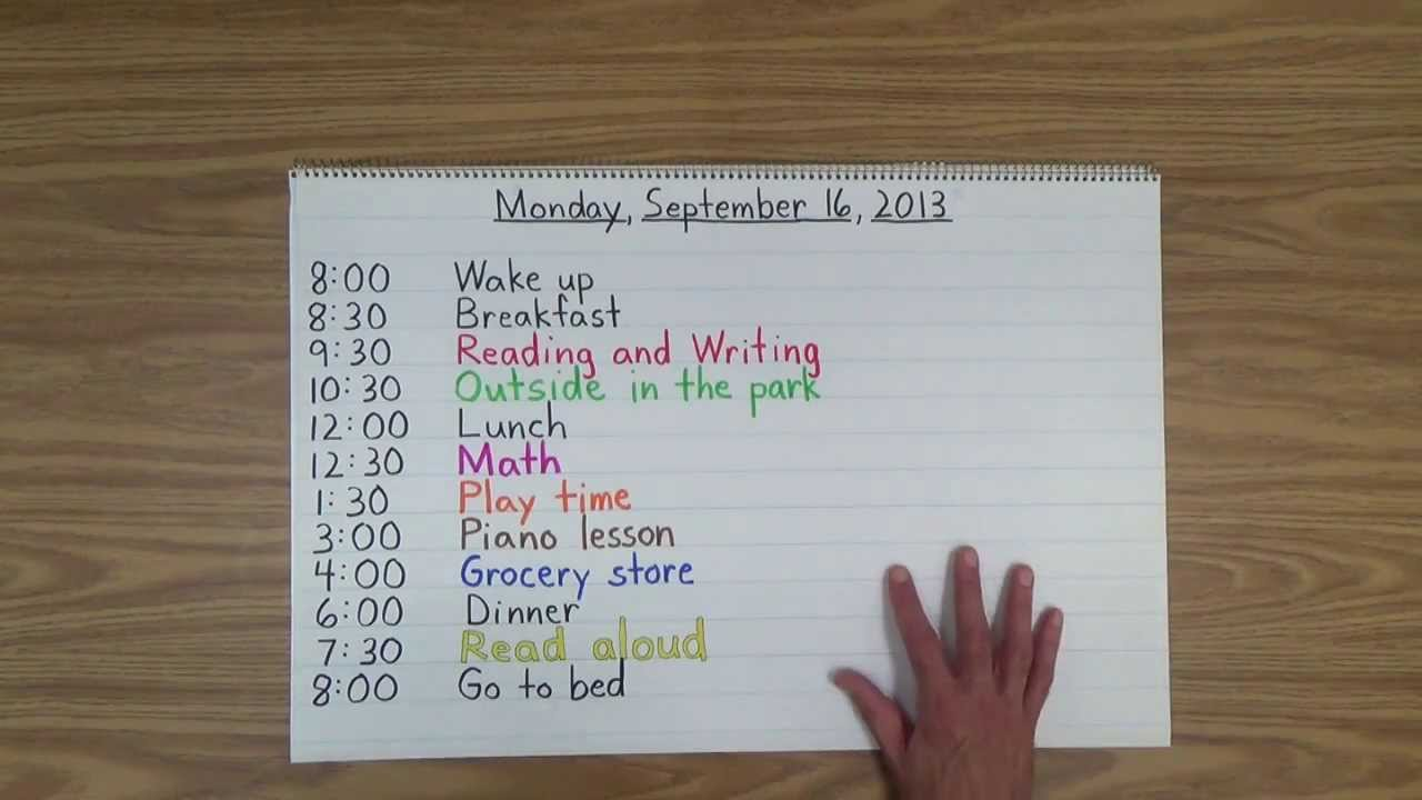 Stay at home mom schedule. I like the general idea of this plan