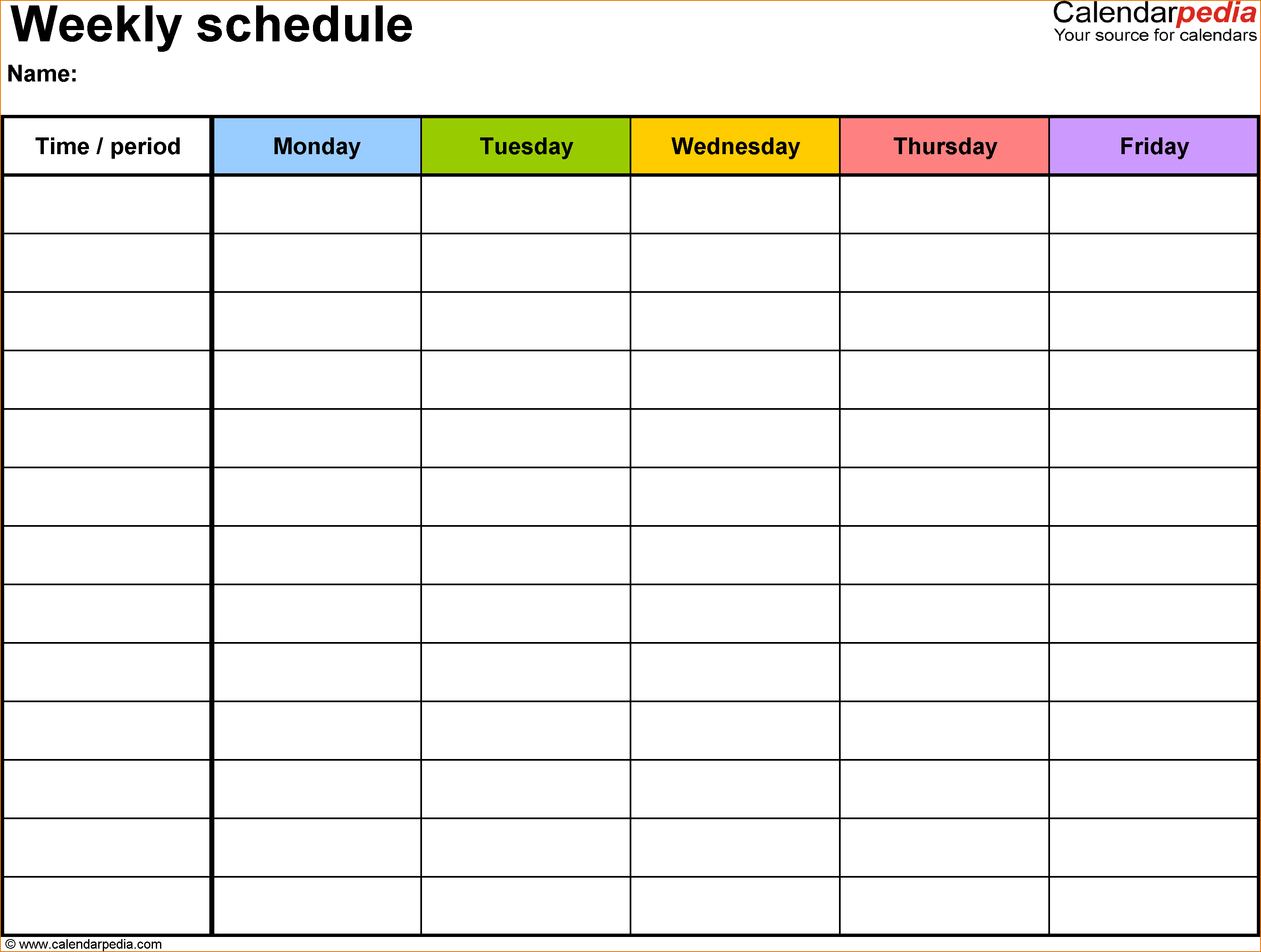 4+ daily schedule maker | teknoswitch