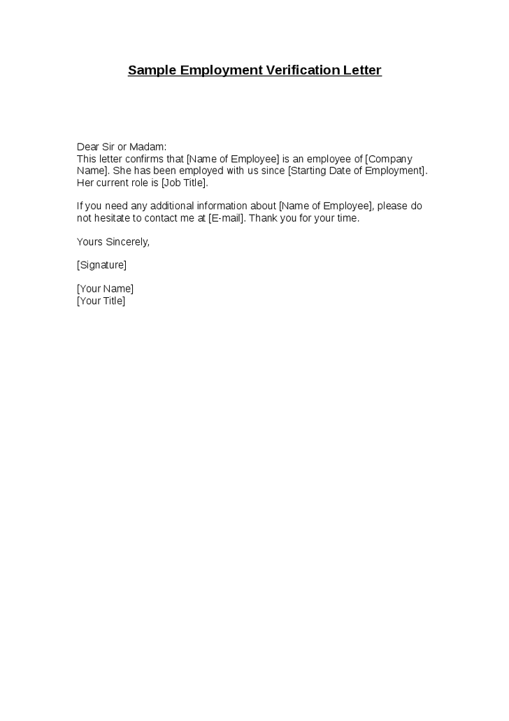 Sample Employment Letter Pdf Template on offer for, termination notice, formal termination,