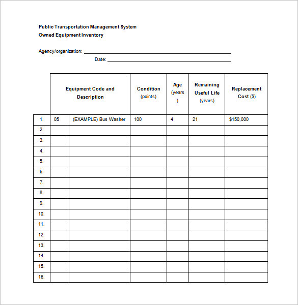 Maintenance Schedule Template will help you keep track of your
