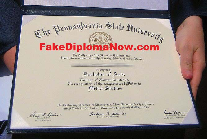 fake diploma certificate free download