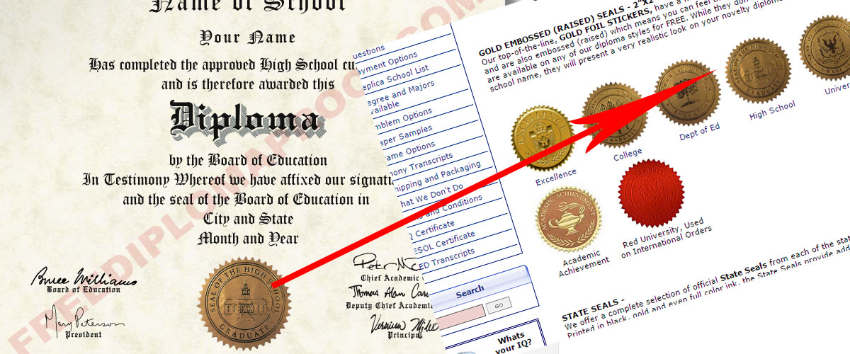 FreeDiplomaProof.– Fake Diploma Website Reviews
