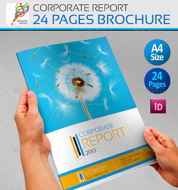 Free Annual Report Template | Free Business Template