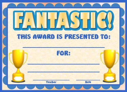Best 25+ Award certificates ideas on Pinterest | Student awards