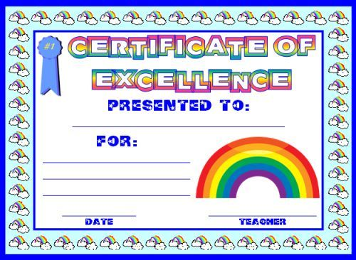 Free Printable Good Helper Awards Certificates