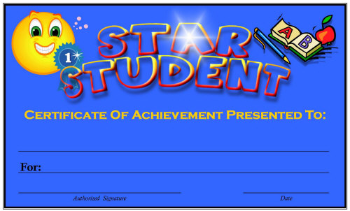Free Printable Award Certificates for Elementary School Teachers