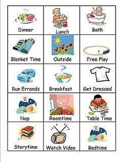 52 best Picture Schedules images on Pinterest | Picture schedules