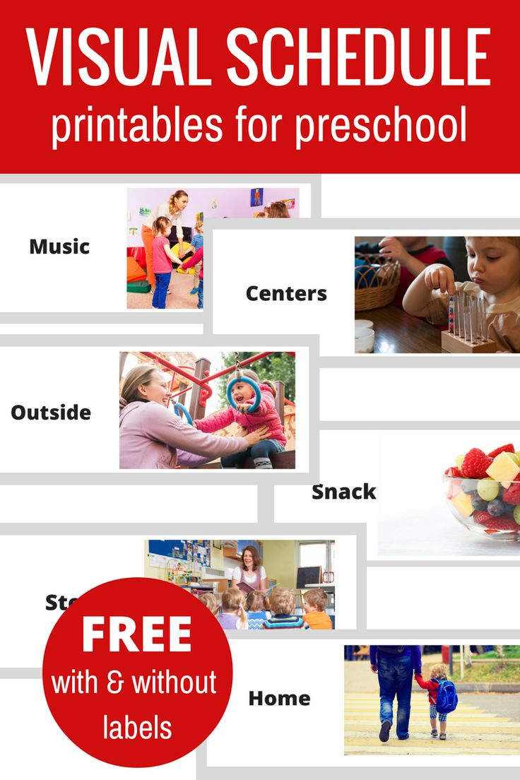 Best 25+ Visual schedule preschool ideas on Pinterest | Picture