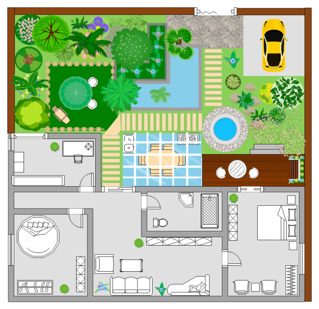 Garden planner template planner template free for Property site plan software