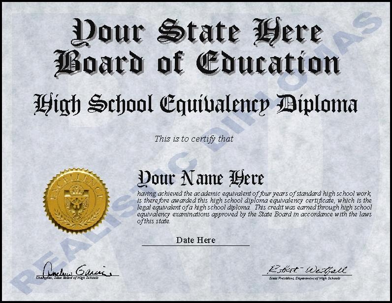 Ged Certificate Template Download | Media Templates