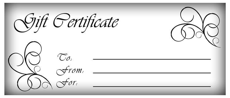 to large word free gift certificate template