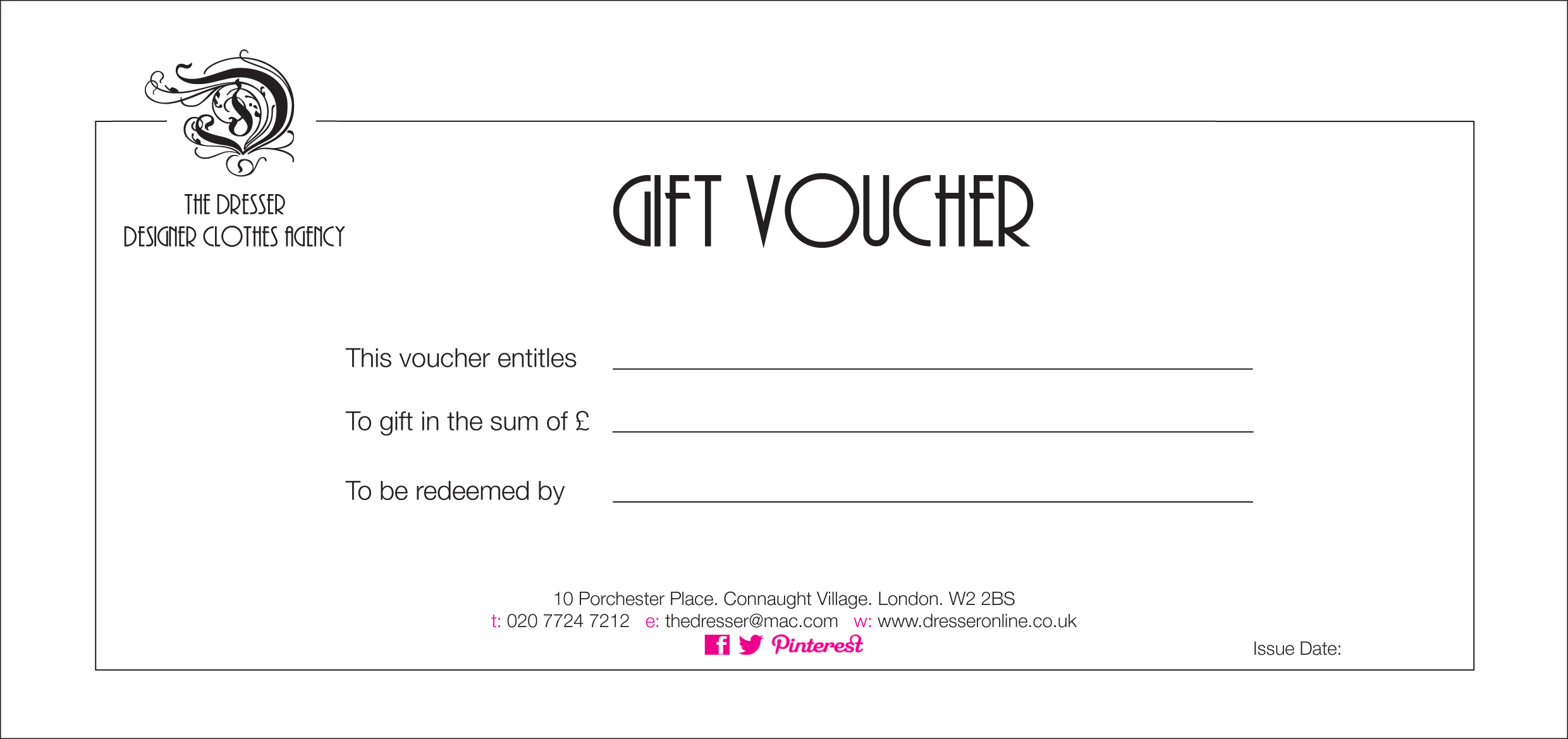 How to word a gift certificate