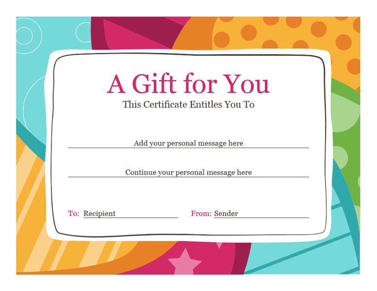 21+ Free Gift Voucher Template Word Excel Formats