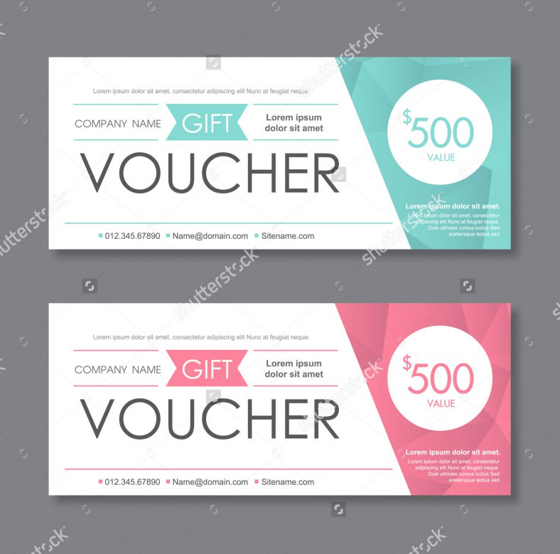 free gift voucher template for word
