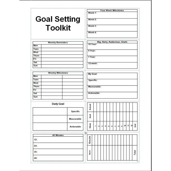 25+ best Goals template ideas on Pinterest | Short term goals