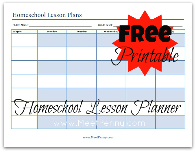 Ultimate Free Homeschool Planning List: Free Homeschool Planners