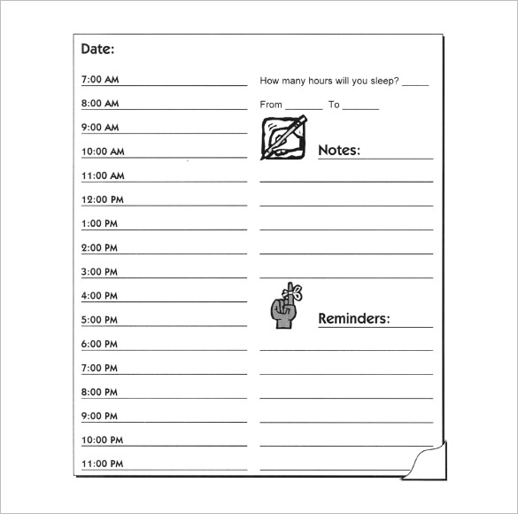 Obsessed image pertaining to weekly hourly planner pdf