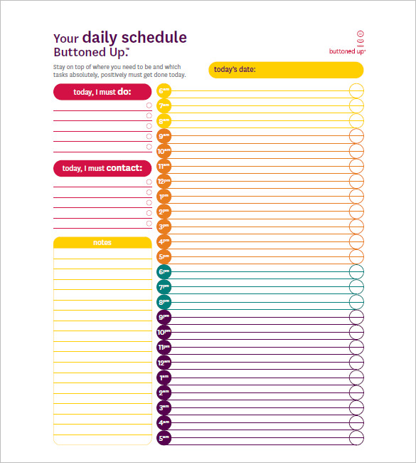 7+ weekly hourly planner pdf | a cover letters