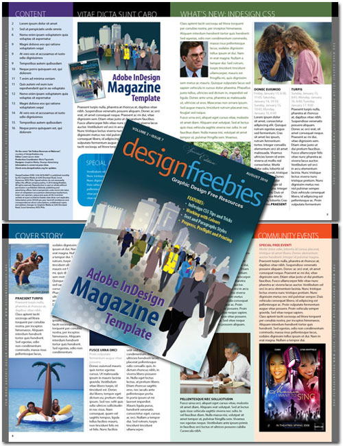 17 Free Magazine Indesign Template for Editorial Project | Layout