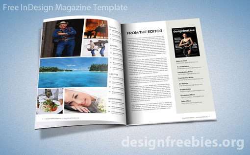 template free download indesign free and premium print magazine