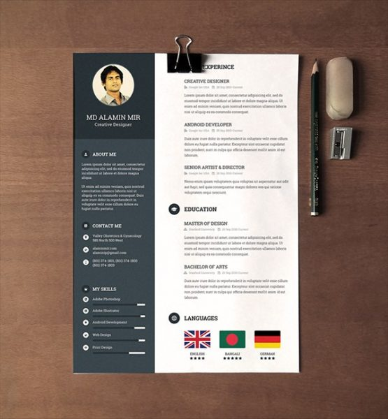 Free Resume Templates For Word Download. Quick Resume Builder Free