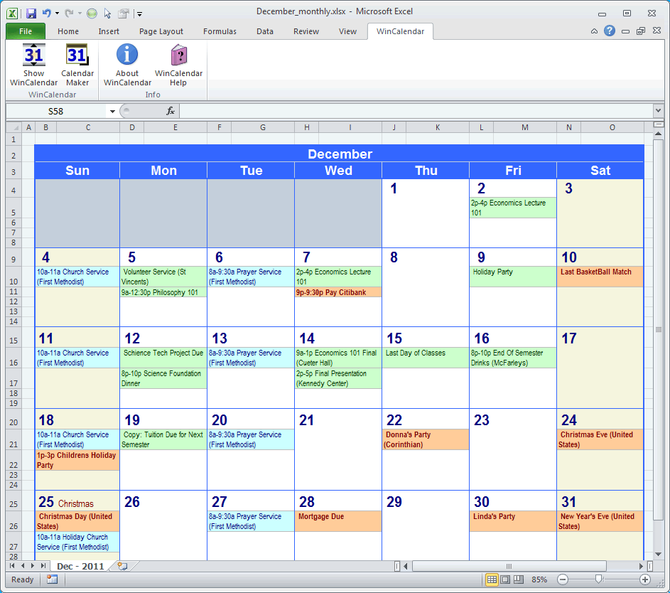 Monthly Menu Planner Template Excel   monthly menu planner