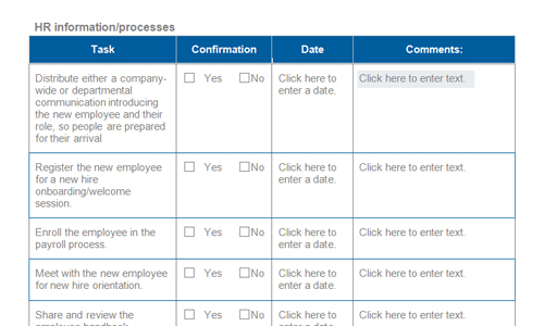 Best practice onboarding checklists | Download toolkit