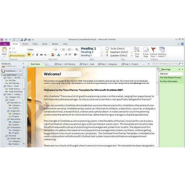 OneNote Templates Download Office OneNote Gem Add Ins
