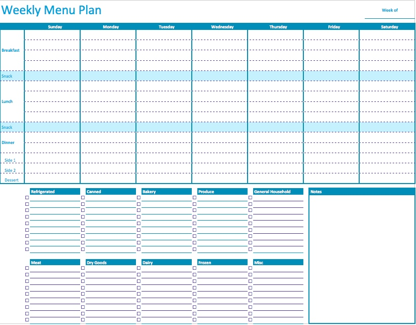 Daily Planner Template Free | Free Business Template