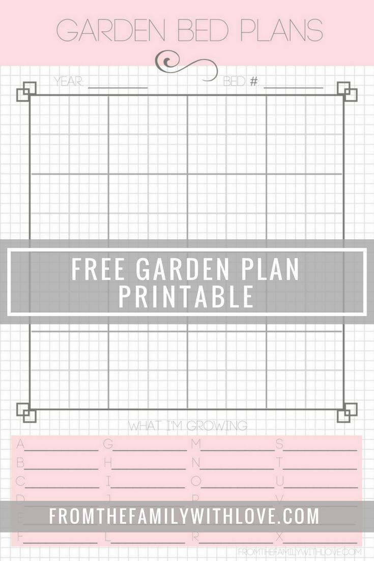Garden Planners, Charts & Lists ~ Free Printables   Cotton Ridge