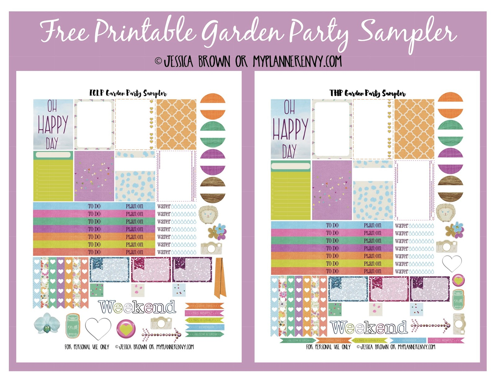 FREE Printable Garden Planner and Food Preservation Journal