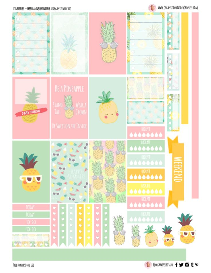 Best 25+ Free printable planner ideas on Pinterest | Printable