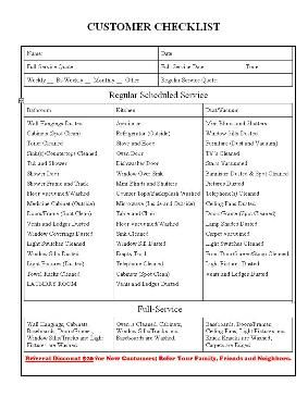 Sample House Cleaning Checklist 5+ Documents in Word, PDF