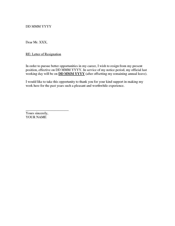 resignation examples best professional free examples letters of